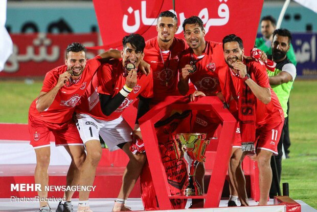 Iran Pro League championship ceremony