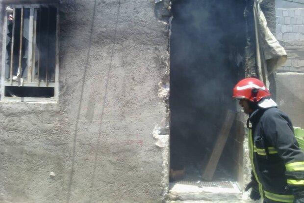 مهار دو فقره آتشسوزی در گناوه/یک نفر مصدوم شد