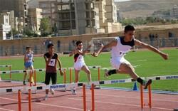 دونده کردستانی مقام دوم ماده ۱۰۰ متر را کسب کرد