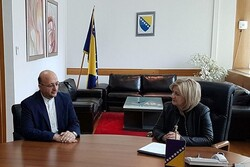 Tehran, Sarajevo discuss expansion of parliamentary ties