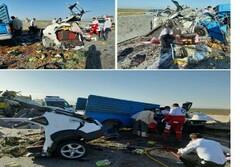 تعداد کشته شدگان تصادف مسیر تبریز به ارومیه افزایش یافت