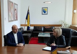 Bosnian parliament speaker pushes for closer ties with Iran