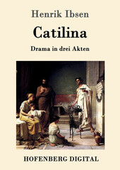 "Front cover of Norwegian writer Henrik Ibsen's first play ""Catiline""."