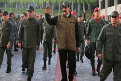 Venezuelan military forces say waiting for US with weapons in their hands
