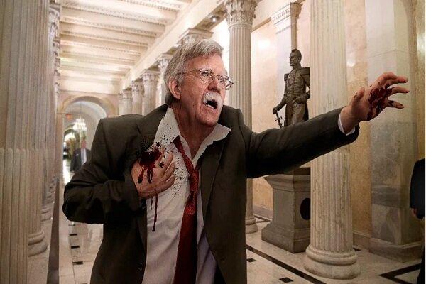 ایران مرا به زمین انداخت و با موشک دوربرد به من شلیک کرد!