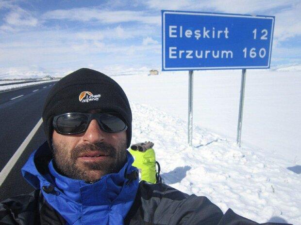 ماجرای سفرهای جالب یک کارگر ساختمانی/۱۸۰۰ کیلومتر پیاده تا قونیه