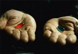 وقتی دیالوگ «ماتریکس» رنگ سیاست میگیرد/ کدام «قرص قرمز»؟
