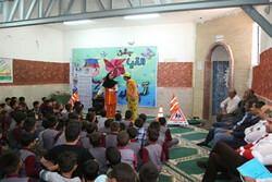 دانش آموزان بویین زهرا و البرز با مفاهیم ایمنی و ترافیک آشنا شدند