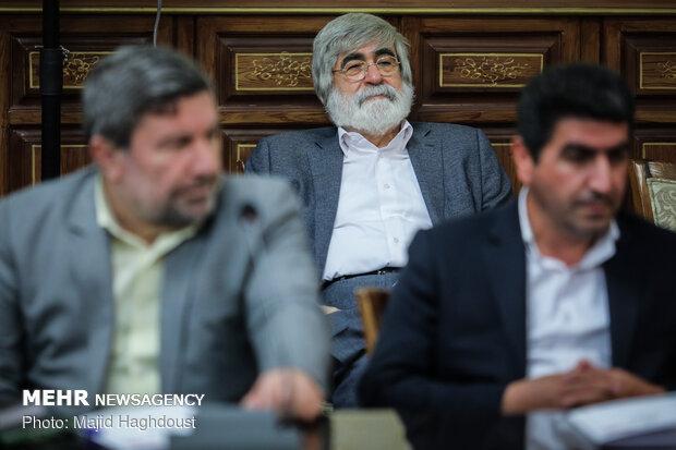 دیدار فعالان اقتصادی با رئیس قوه قضائیه