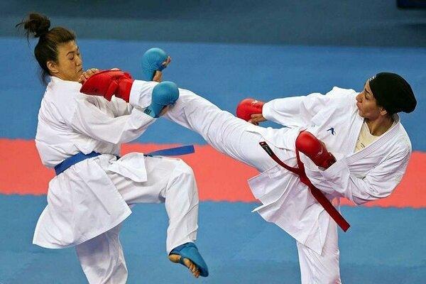 İranlı kadın sporcu Karate 1 A Serisi'nde finale çıkmaya hak kazandı