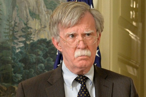 Bolton repeats US hostile stance against Iranian tanker