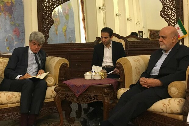 Iran, France envoys to Baghdad discuss regional developments