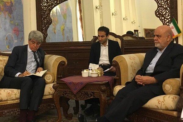 İran'ın Bağdat büyükelçisi, Fransız mevkidaşı ile görüştü