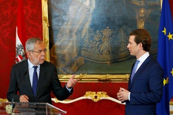 رئیس جمهور اتریش به طور رسمی دولت را منحل کرد