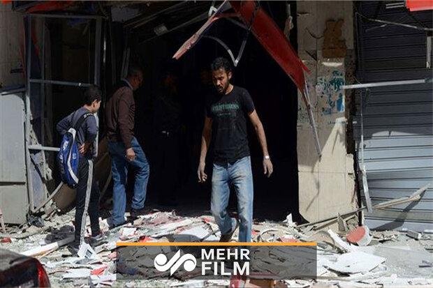 اولین تصاویر از محل انفجار در مصر