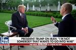 دۆناڵد ترامپ: من ئەو کەسە نیم لەگەڵ ئێران شەڕ بکەم