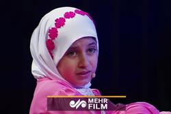 اجرای زیبای نقش دختر شهید غواص توسط یک کودک در برنامه عصر جدید