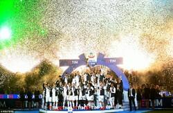 جشن قهرمانی یوونتوس در سری آ ایتالیا
