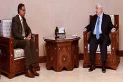 رایزنی ولید معلم با مقام هندی در دمشق