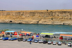 Dez coastal resort in southwestern Iran