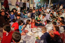 توزیع وعده سحری در مساجد محله هرندی