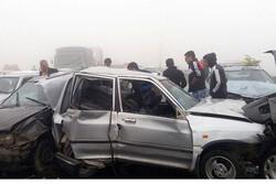 لغزندگی جاده در شهر قزوین حادثه آفرید