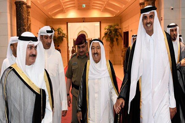 رایزنی مقامهای کویت و قطر درباره تقویت روابط دو جانبه