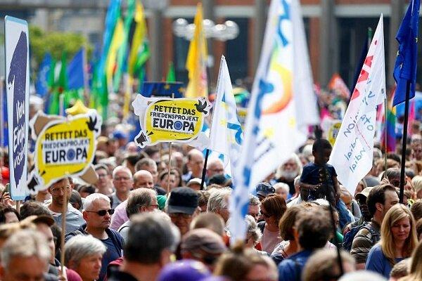 یورپ میں موسمیاتی تبدیلی کے خلاف نوجوانوں کا احتجاج