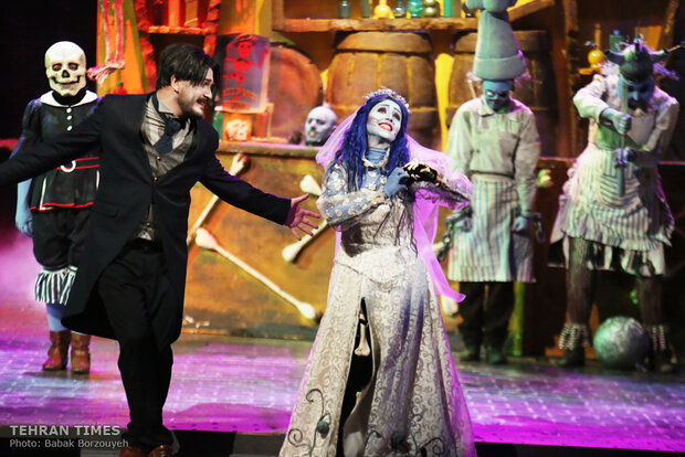 'Corpse Bride' to walk on Iranian stage