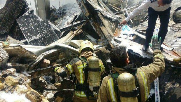 انفجار در خیابان اشرفی اصفهانی/مرگ یک نفر در زیر آوار