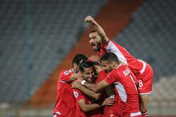 دیدار تیم های فوتبال پرسپولیس و السد قطر