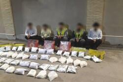 ۶۹۵ کیلوگرم انواع مواد مخدر در آذربایجان غربی کشف شد