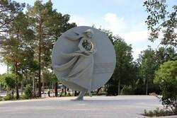 اِلِمان «مادر زمین» در پارک مادر نصب شد