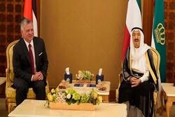 دیدار پادشاه اردن و امیر کویت درباره تحولات منطقه