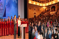 برگزاری جشن هشتادوپنجمین سال تاسیس کتابخانه ملی قرقیزستان