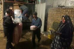 اقلام جهیزیه بین زوجهای سیلزده پلدختری توزیع شد