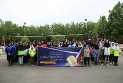 مسابقات والیبال بانوان جام رمضان در قزوین آغاز شد