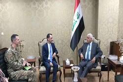 آنچه در دیدار میان فالح الفیاض و مقام آمریکایی در بغداد گذشت