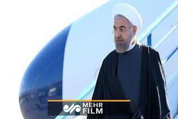 روحاني يتوجه الى قرغيزيا للمشاركة في قمة منظمة شنغهاي للتعاون