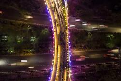 طقوس رمضانية على جسر الطبيعة في طهران/صور