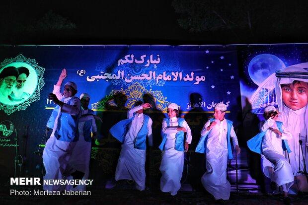 مراسم قرقيعان الشعبية في الأهواز