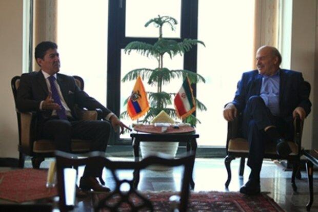Iran, Ecuador discuss environmental cooperation