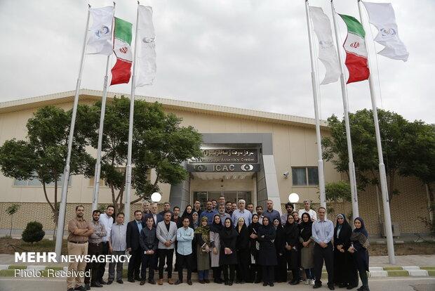 بازدید اصحاب رسانههای کشور از مجتمع غنی سازی شهید احمدی روشن