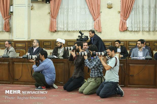 دیدار رئیس قوه قضاییه با اصحاب رسانه