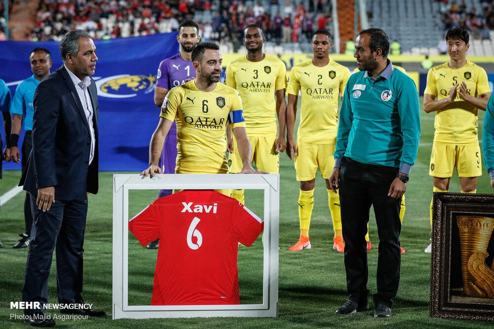 Xavi Handed Persepolis No 6 Jersey Tehran Times