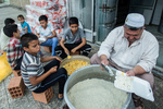 sel bölgesinde iftar ziyafeti