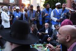 حضور «کوربین» در مراسم افطار مسلمانان