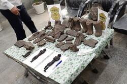 کشف مجسمه مومیایی حین معامله غیرمجاز در دزفول