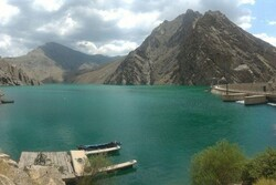 Amirkabir Dam in Alborz full up to 93%