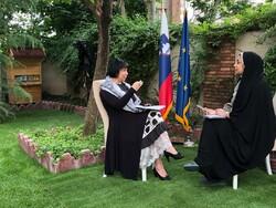 Kristina Radej, Slovenian ambassador to Iran